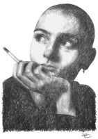 sinead o'connor by TOYIB