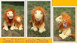 Small 2011 adult Simba by Laurel-Lion