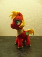 Big Macintosh Filly Plushie by russkyguy1917
