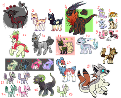 Lots of cheap unsold adopts! //Open\\ by coconuteIIa