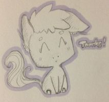 A Thank You Pony by SleepySketches