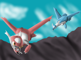 Fairy and Dragon Type Contest Entry by Brookreed