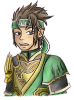 MyPaint Practice - DW8 Guan Ping by FatefulWings
