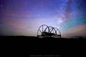 West Texas Sky At Night by AndrewCarrell1969