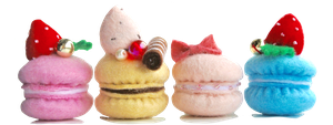 More macarons! :D by xmy-craftsx