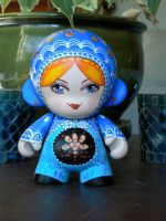 Munny Russian Nesting Doll 1 by claudiamm37
