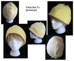 Chick Hat V. 1 of 2 by italktotherain