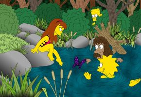 At The Ol' Swimming Hole by magik2005
