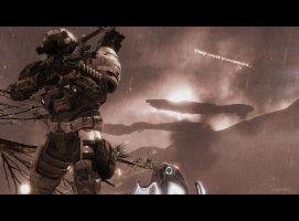 Halo Reach: Unexpected by purpledragon104