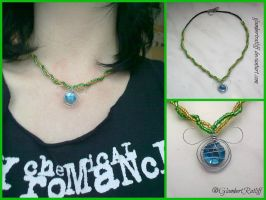 Loki inspired necklace by TesseractGlow