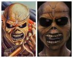 Eddie the Head facepaiting by HelenQuila