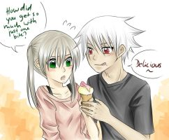 Request: Ice cream time~ by nayght-tsuki