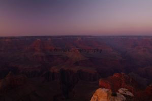 Sunset At Maricopa Point by DavidLPhotography