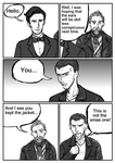 If 9th Doctor were in the 50th anniversary P4 by GaryLight
