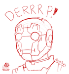 Iron Derp by Aileen-Rose