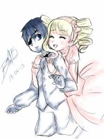 Request- ciel x elizabeth by BLEEDFan95