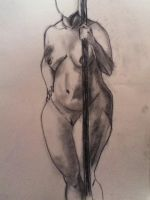 live nude model by jaiquanfayson