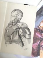 Iron Man by lenishioka