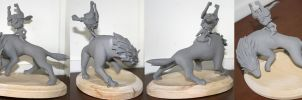 WIP- Twilight Princess Sculpt by ChaosKomori