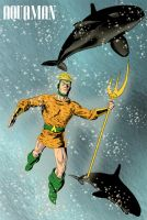 Aquaman Pulp Style by jaypiscopo
