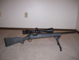 Remington 700 SPS Tactical-.308 by SithFox