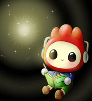 Scribblenaut by KawaiiUnlimited