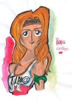 Tina Armstrong???001 coloured by BDTXIII