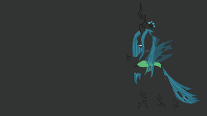 Queen Chrysalis Minimalistic Wallpaper by Kitana-Coldfire