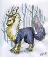 Winter Forest Spirit by Kagoe