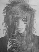 Andy Six drawing (finished) by KarinaBVB