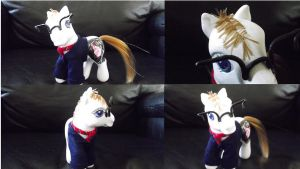 Three Cheers, MCR, Mikey- My Little Pony Customs by Cemetery-Nightmare