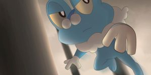 Froakie by All0412