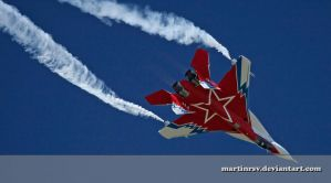 Mig 29 in Mid-Loop by martinrsv