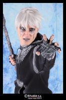 Evil Jack Frost cosplay by CosplayQuest