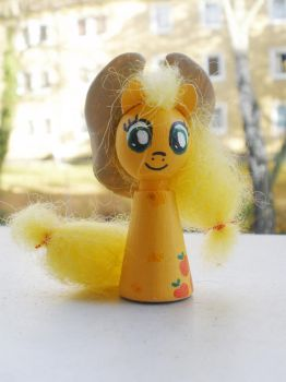 Cones: Applejack by Poison-Harley