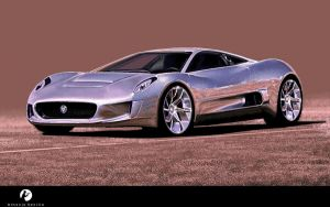 Jaguar C-X75 by tonio48