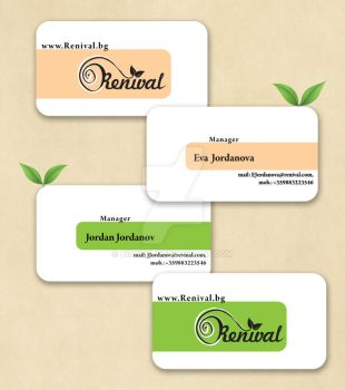 renival business cards by biskido
