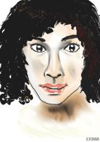 Woman face study n55 by lv888