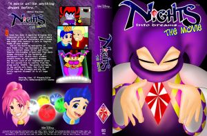 Disney NiGHTS VHS Cover by sonicgirl11