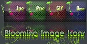 Blooming Image Icons by VasanRajeswaran