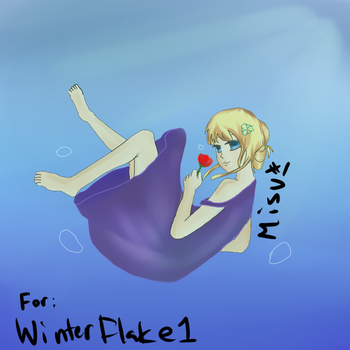 [Art trade] winterflake1 by Misuki-luvs-you