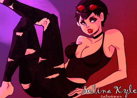 Selina Kyle by RainyTaxi