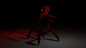 The Red Man by Scp-008