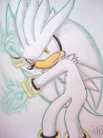 Silver the Hedgehog by Chico-2013