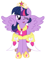 Alicorn Twilight by Sketchstar-mids-sis