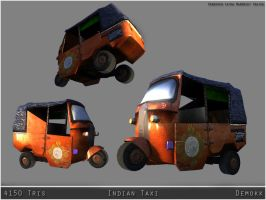 Indian Taxi by Demokk