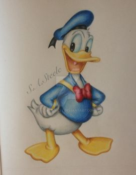 Donald Duck in Colour by SASteelsy