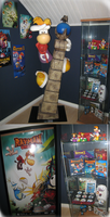My full Rayman Collection April 13 by GhostieShadow