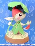 Forest Picori Papercraft by squeezycheesecake