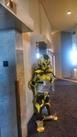 Bumblbee Waiting For The Elevators by Lilscotty